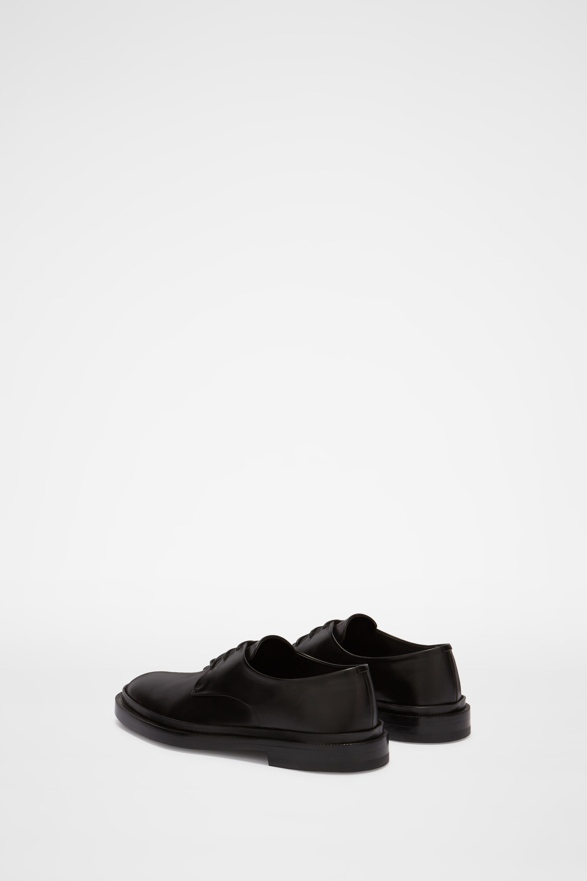 Shoes, black, large