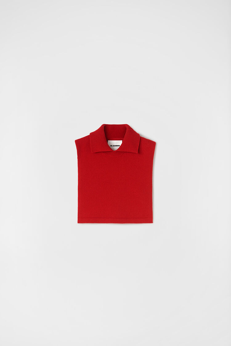 Plastron, red, large