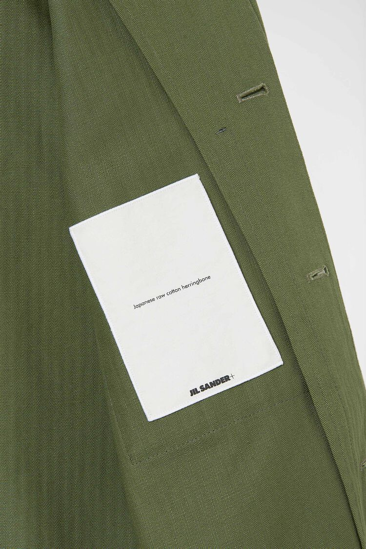 Shirt, green, large