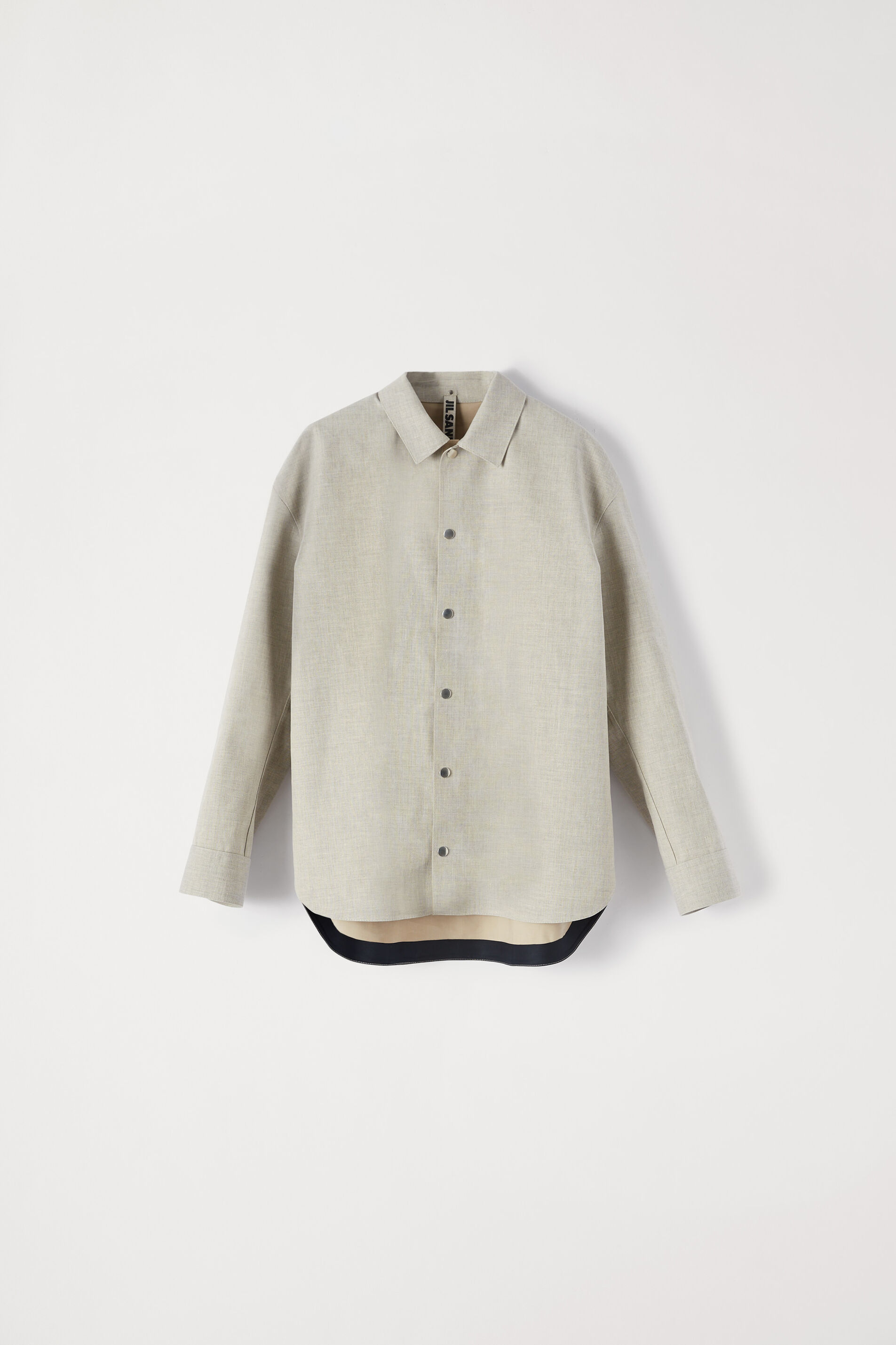 Shirt Jacket, pastel grey, large