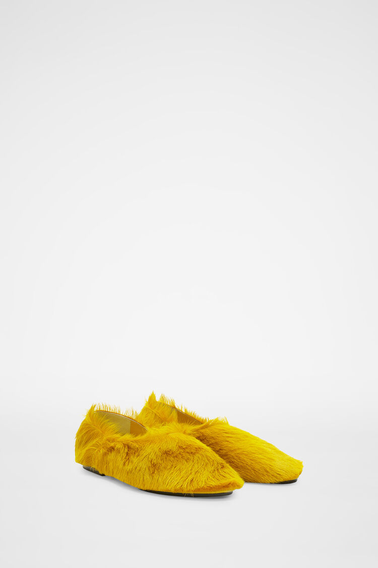 Slippers, pastel yellow, large