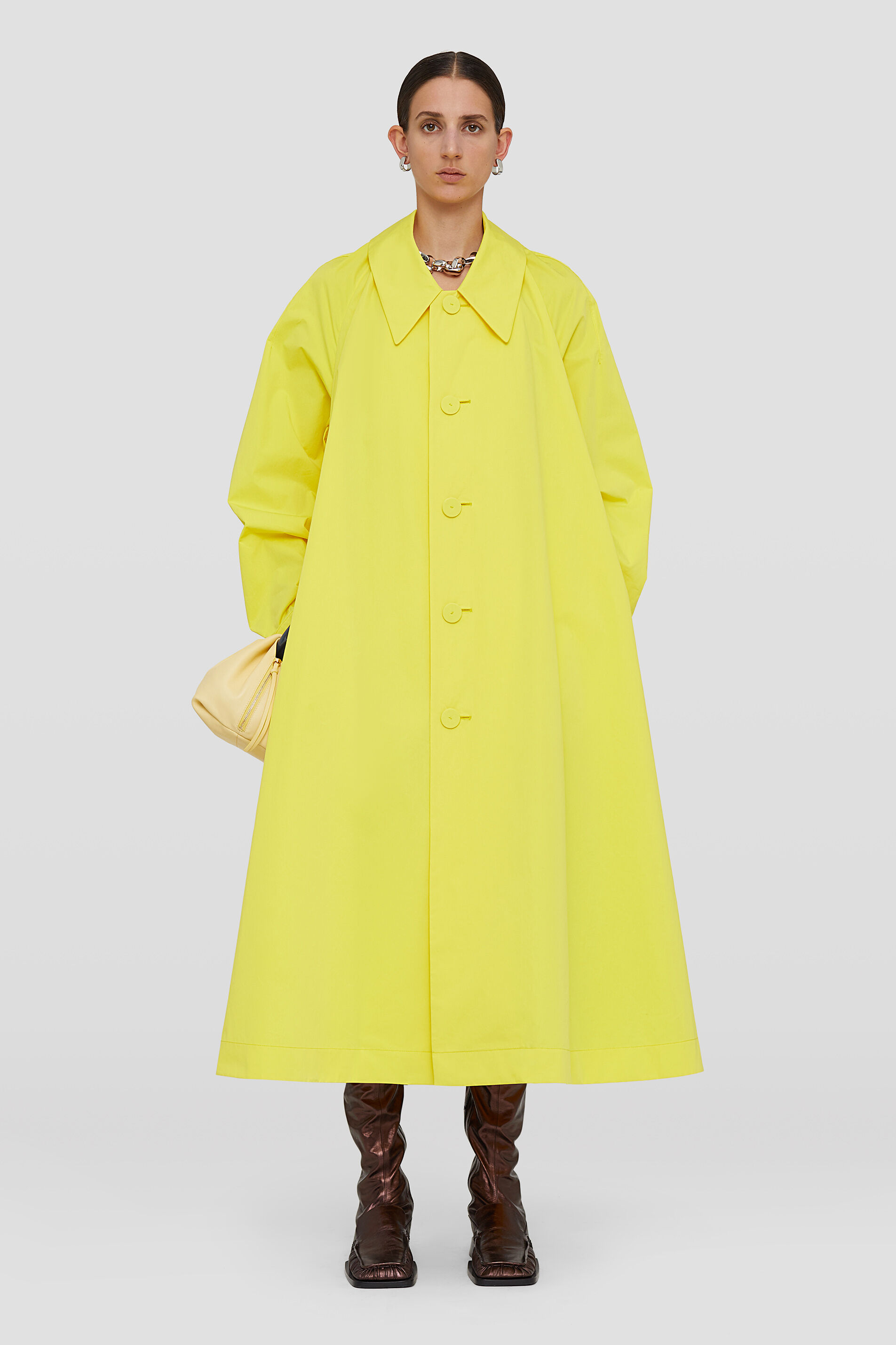 Trench, yellow, large