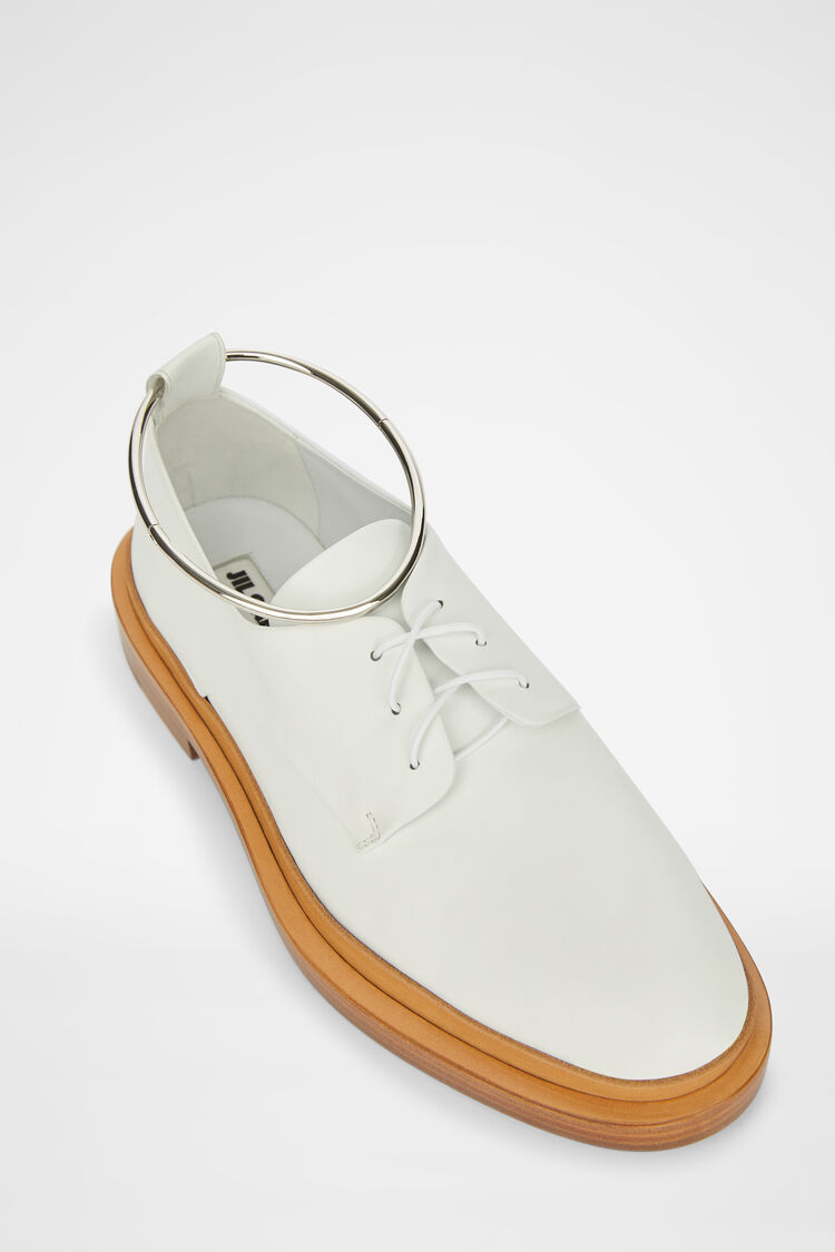 Lace-ups, white, large