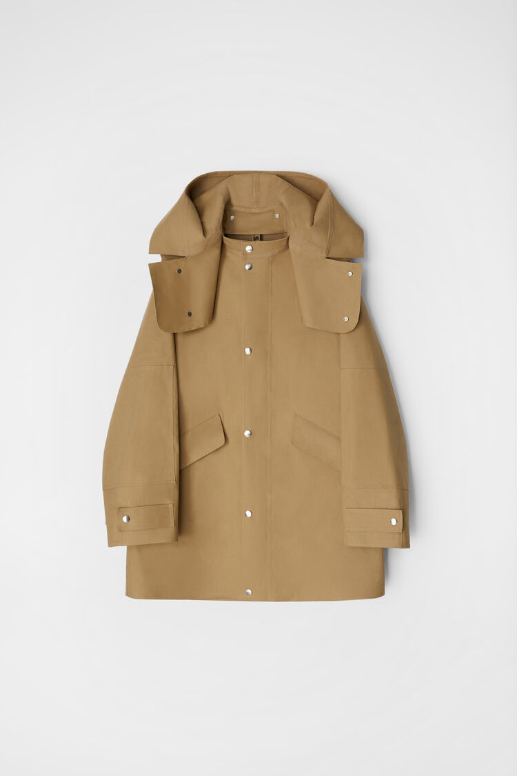 Mackintosh Short Parka, dark beige, large
