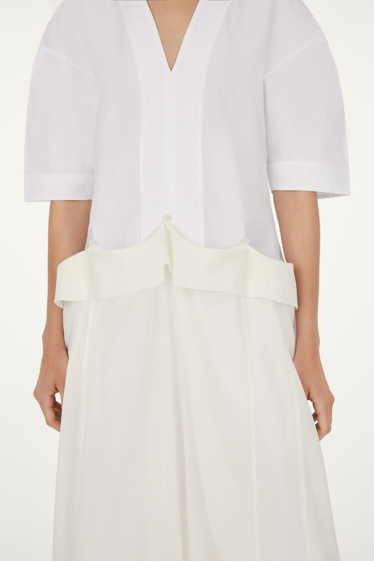 Dress, white, large