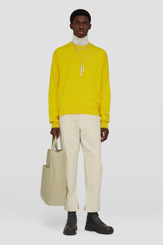 Zipped-Ankle Trousers