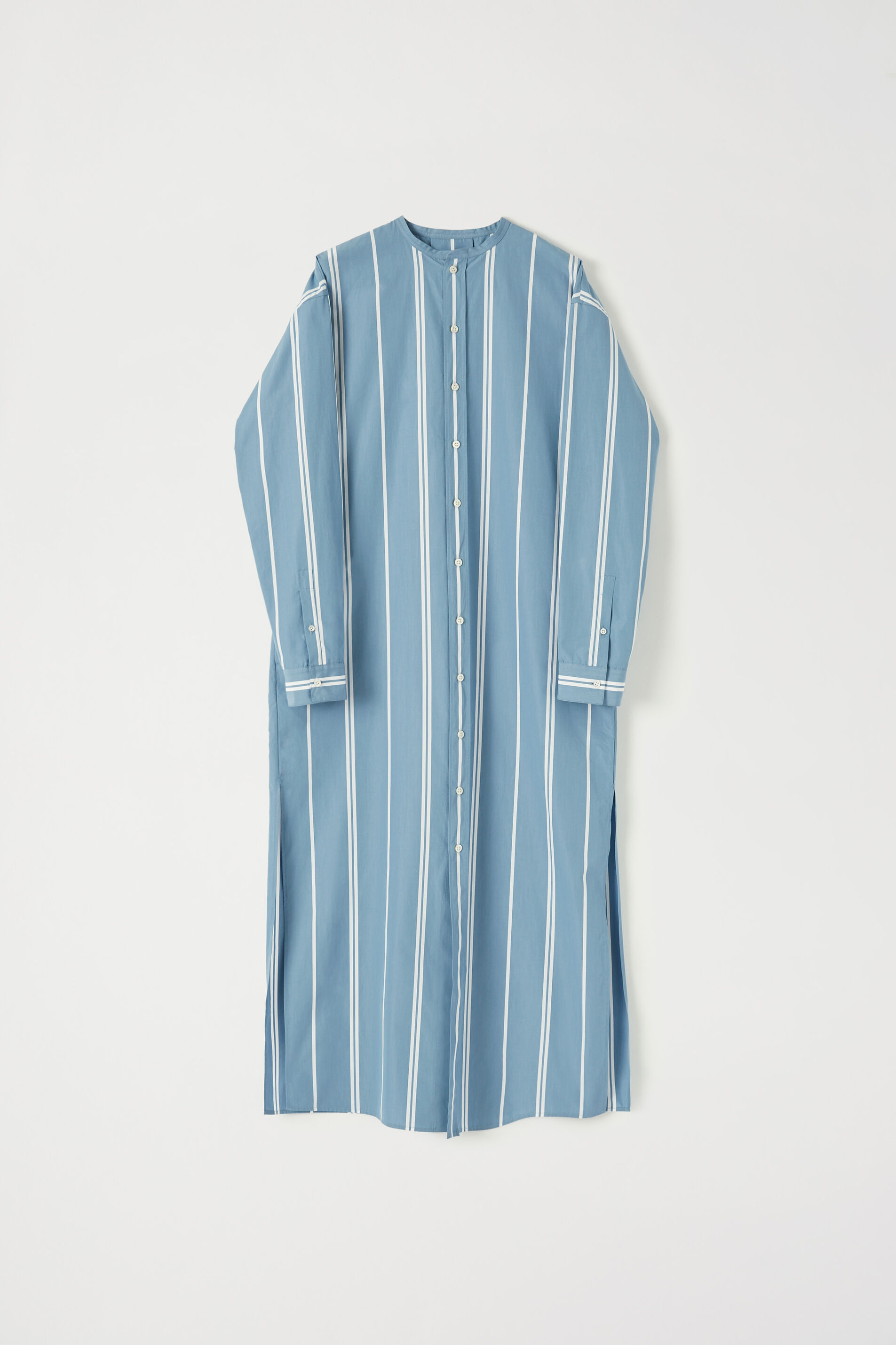 Shirt Dress, pastel blue, large