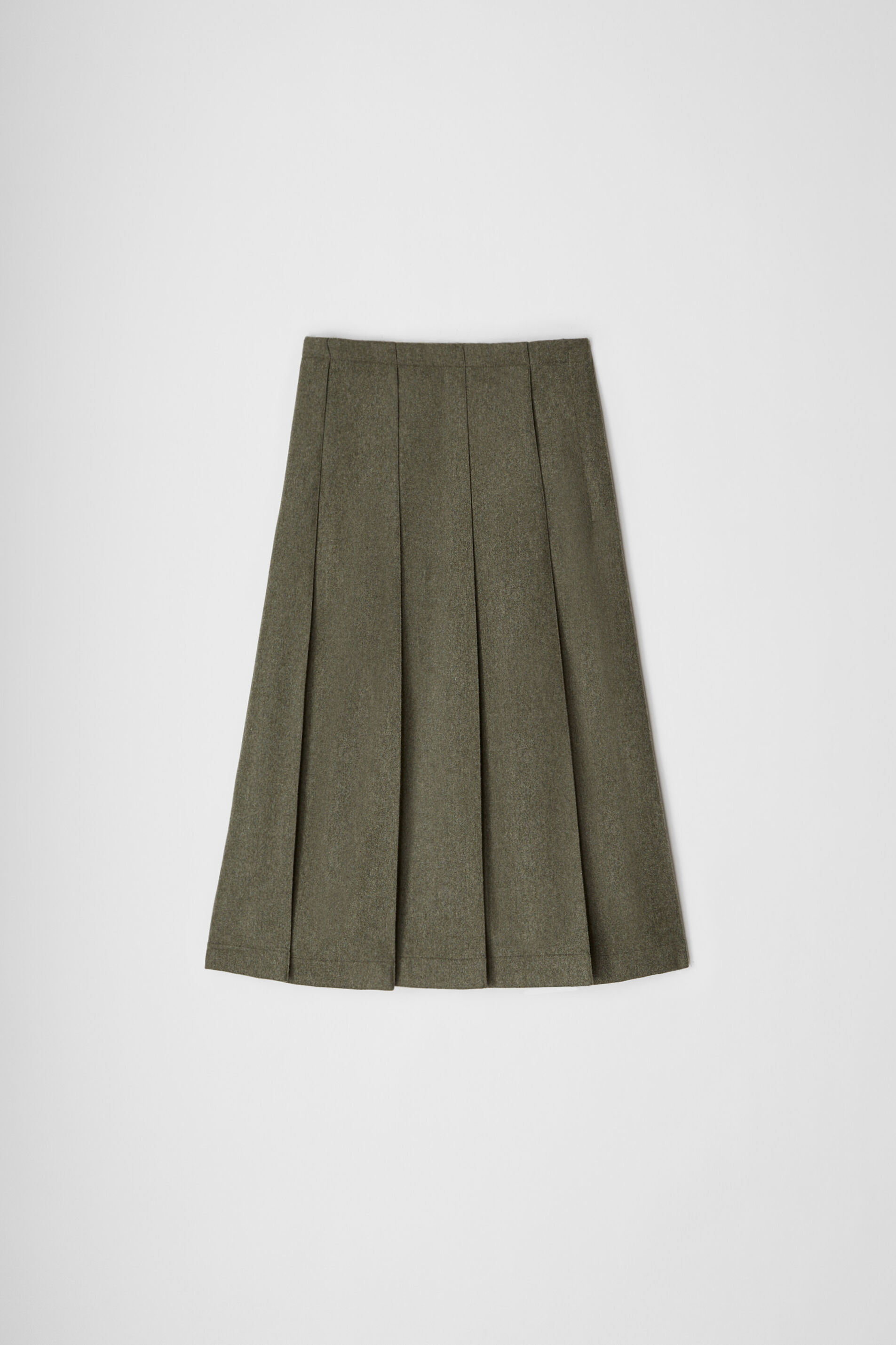 Skirt, dark green, large