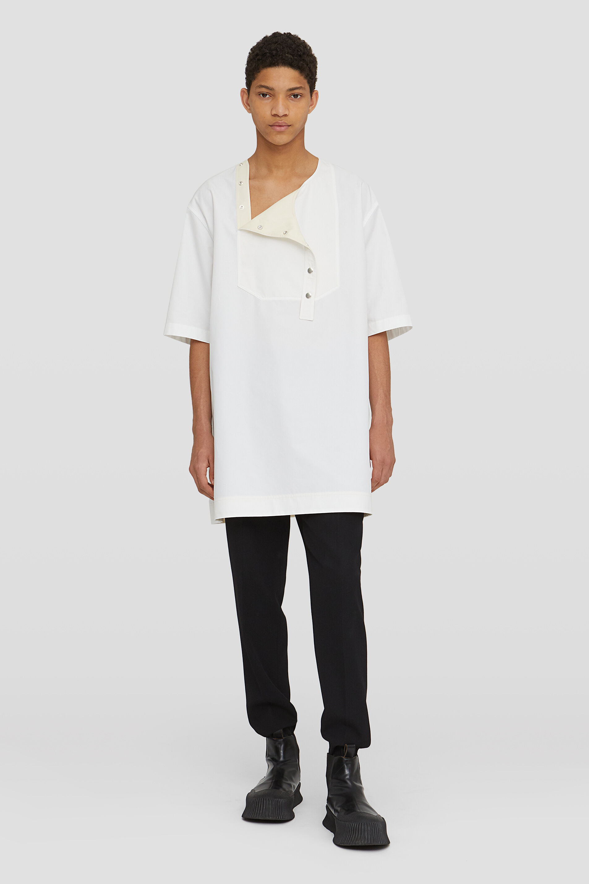 Outer Shirt, white, large