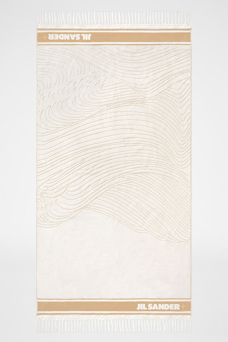 Beach Towel, beige, large