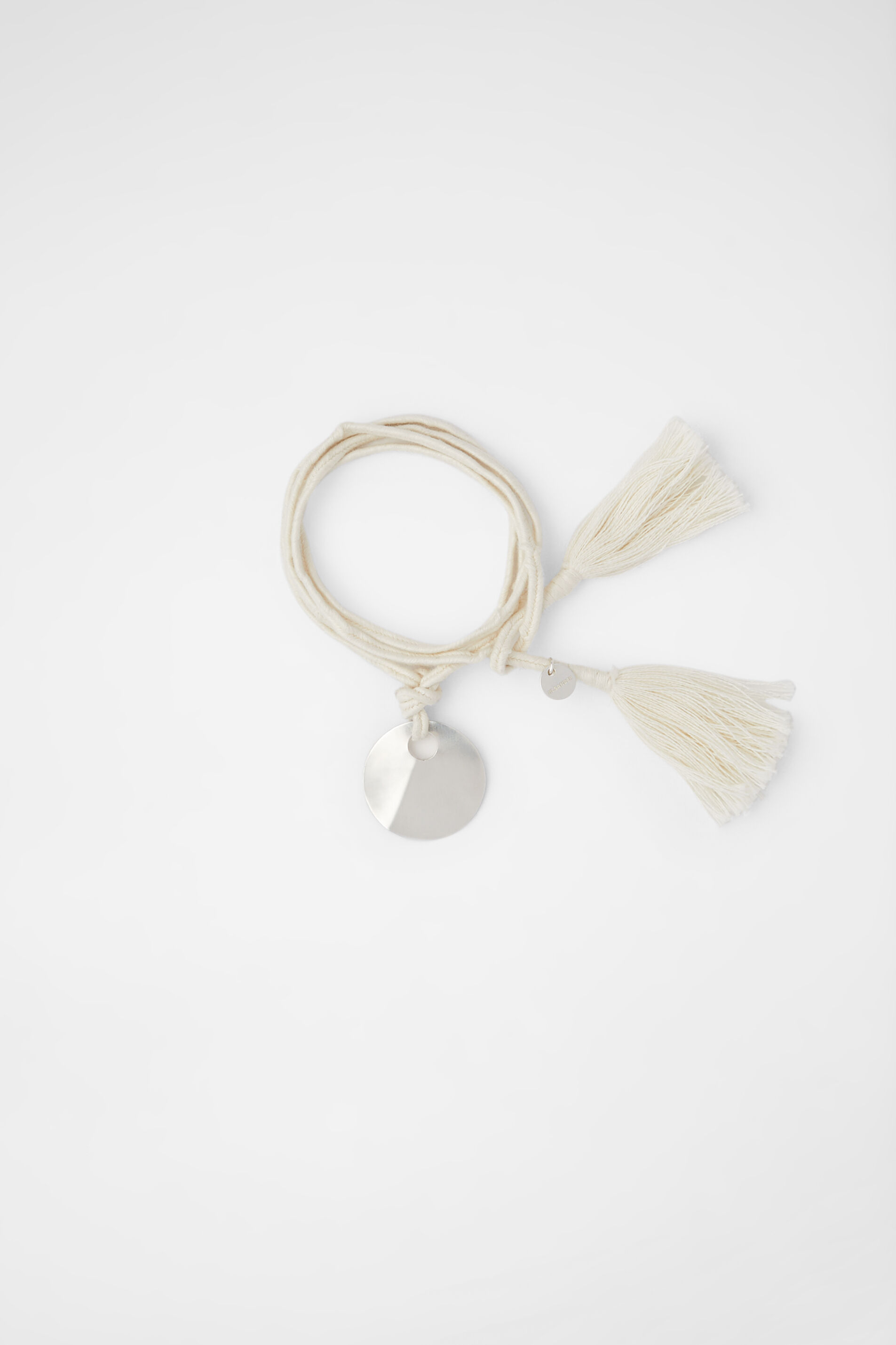 Bracelet-Necklace, beige, large