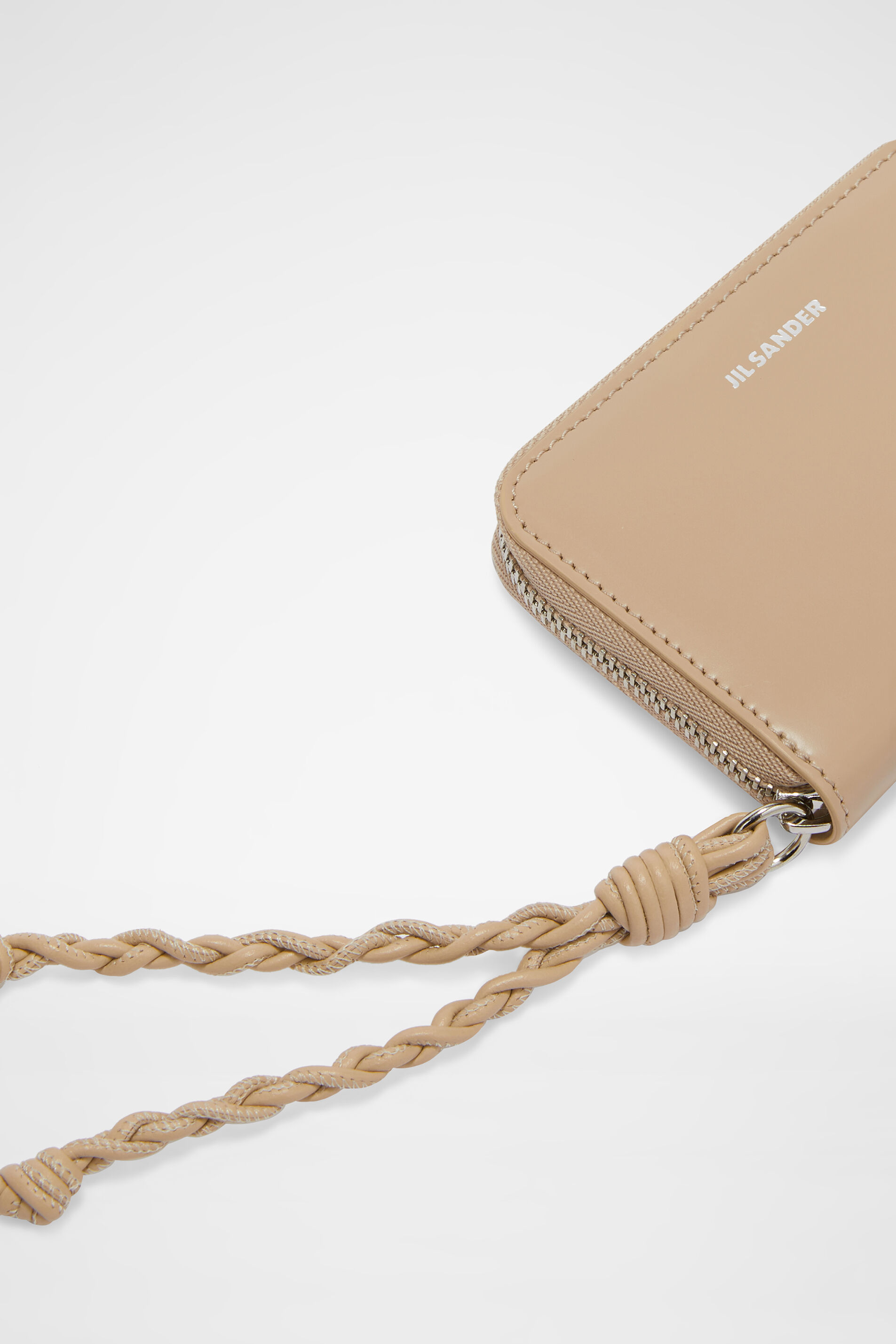 Zip Around Wallet, beige, large