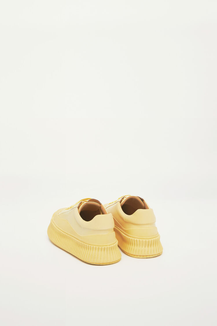 Sneakers, yellow, large