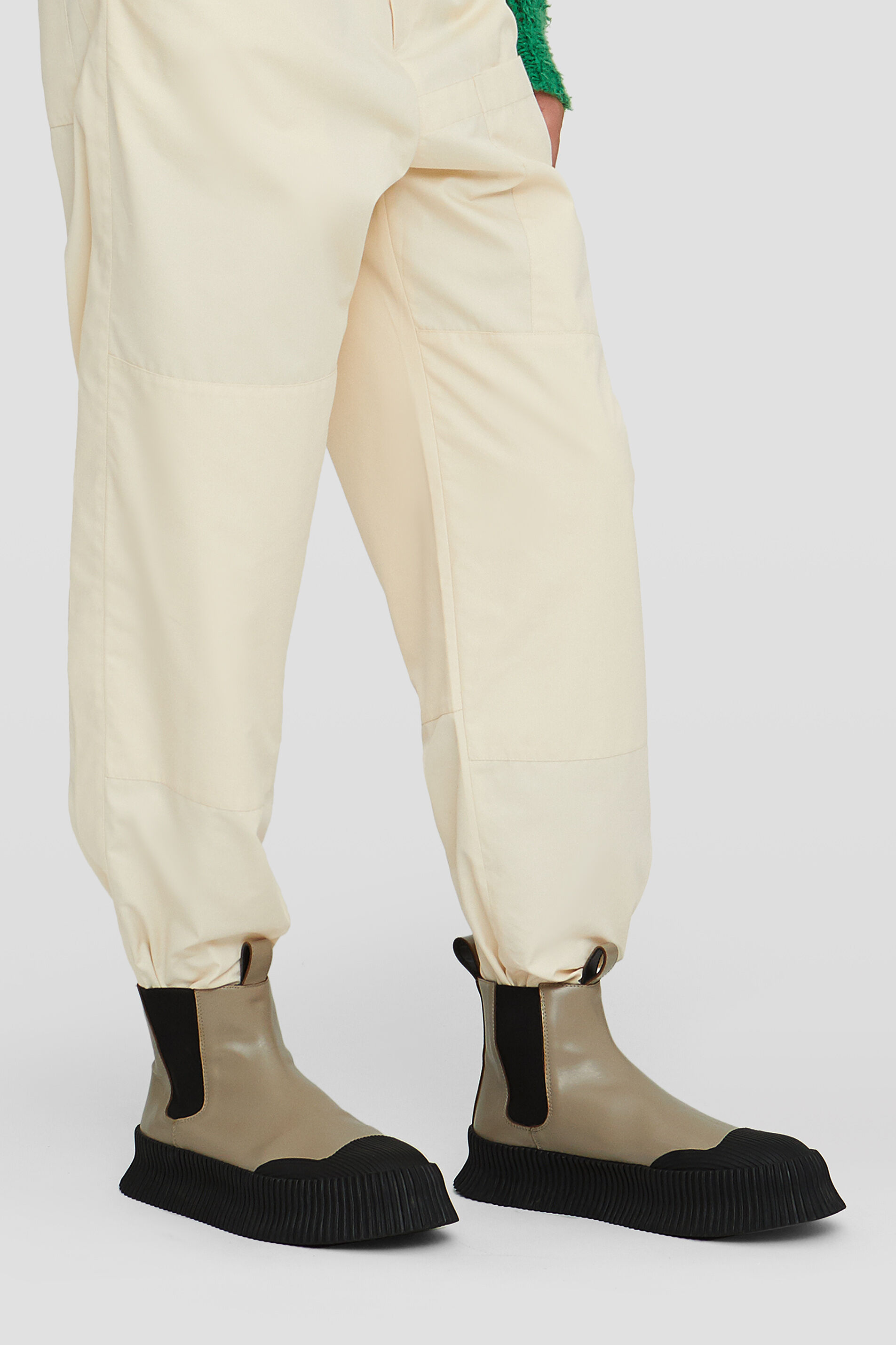 Boots, beige, large