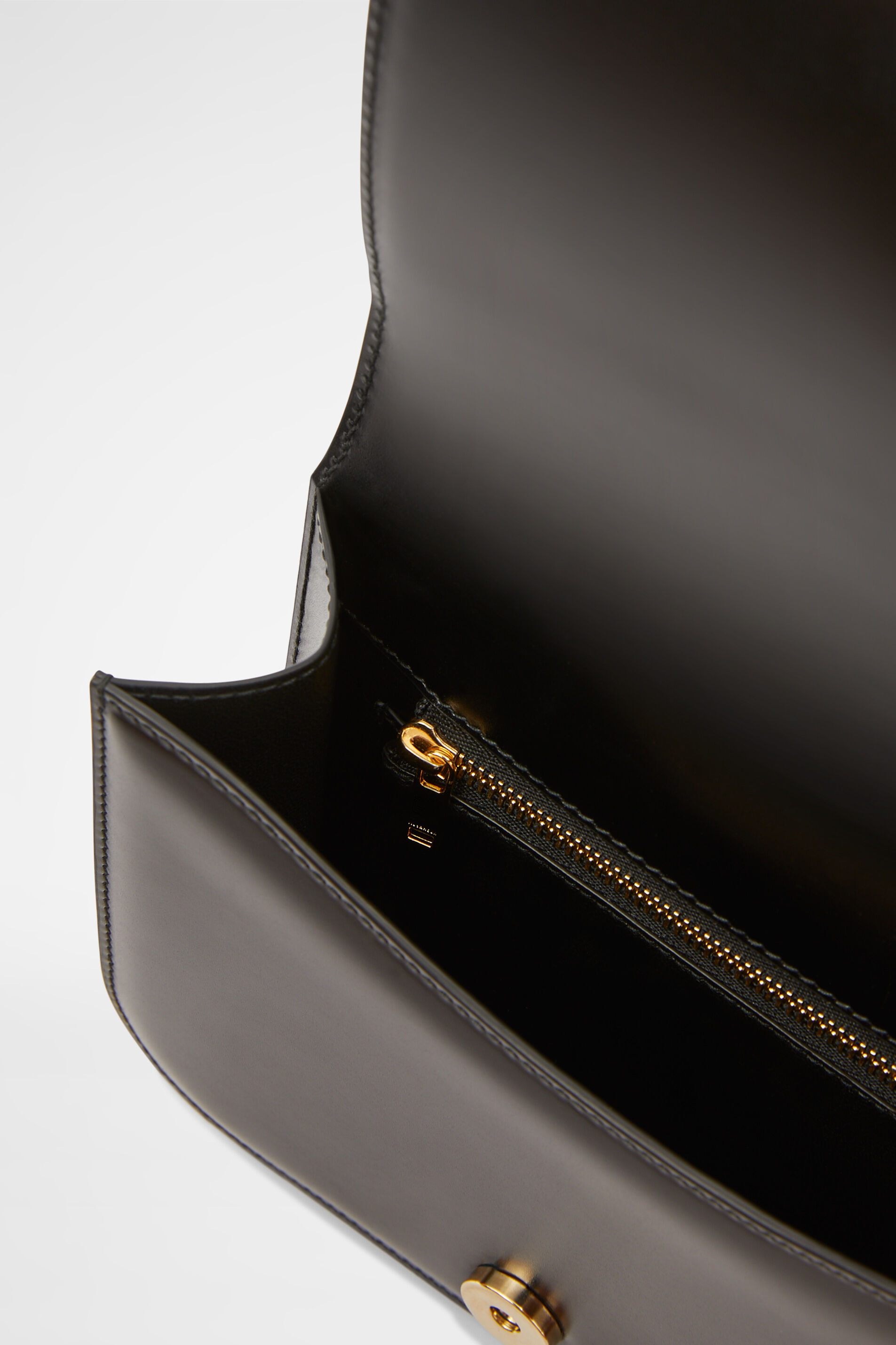 Top Handle Clutch, black, large