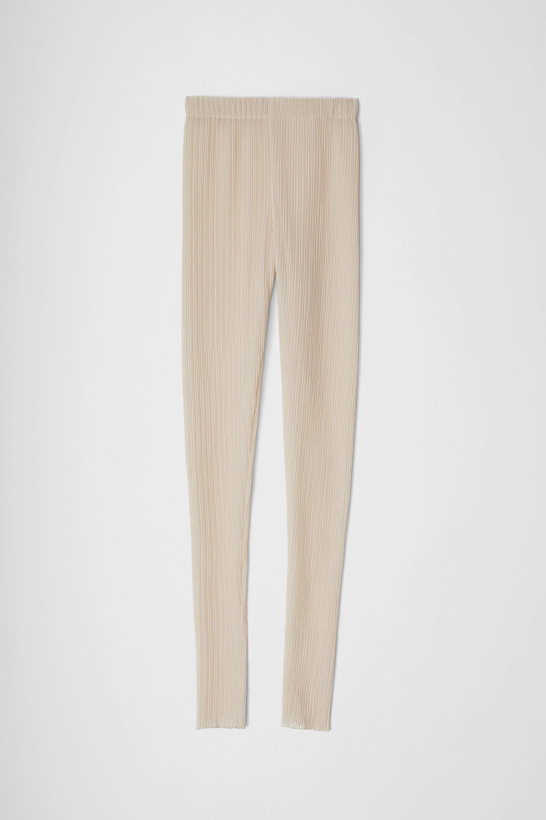 Leggings, beige, large