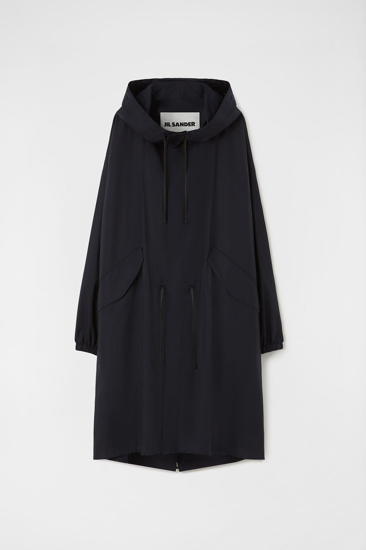 Waterproof Parka, dark blue, large