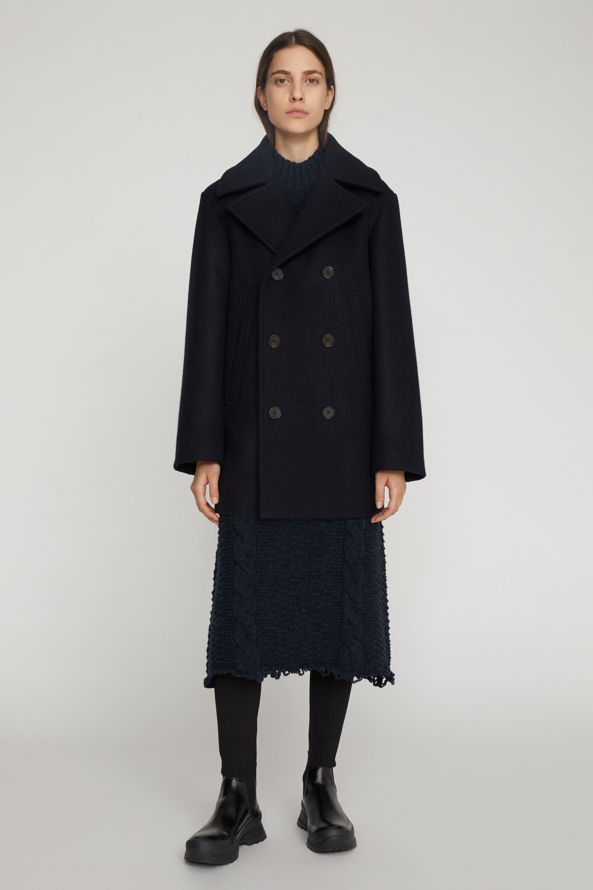 Peacoat, dark blue, large