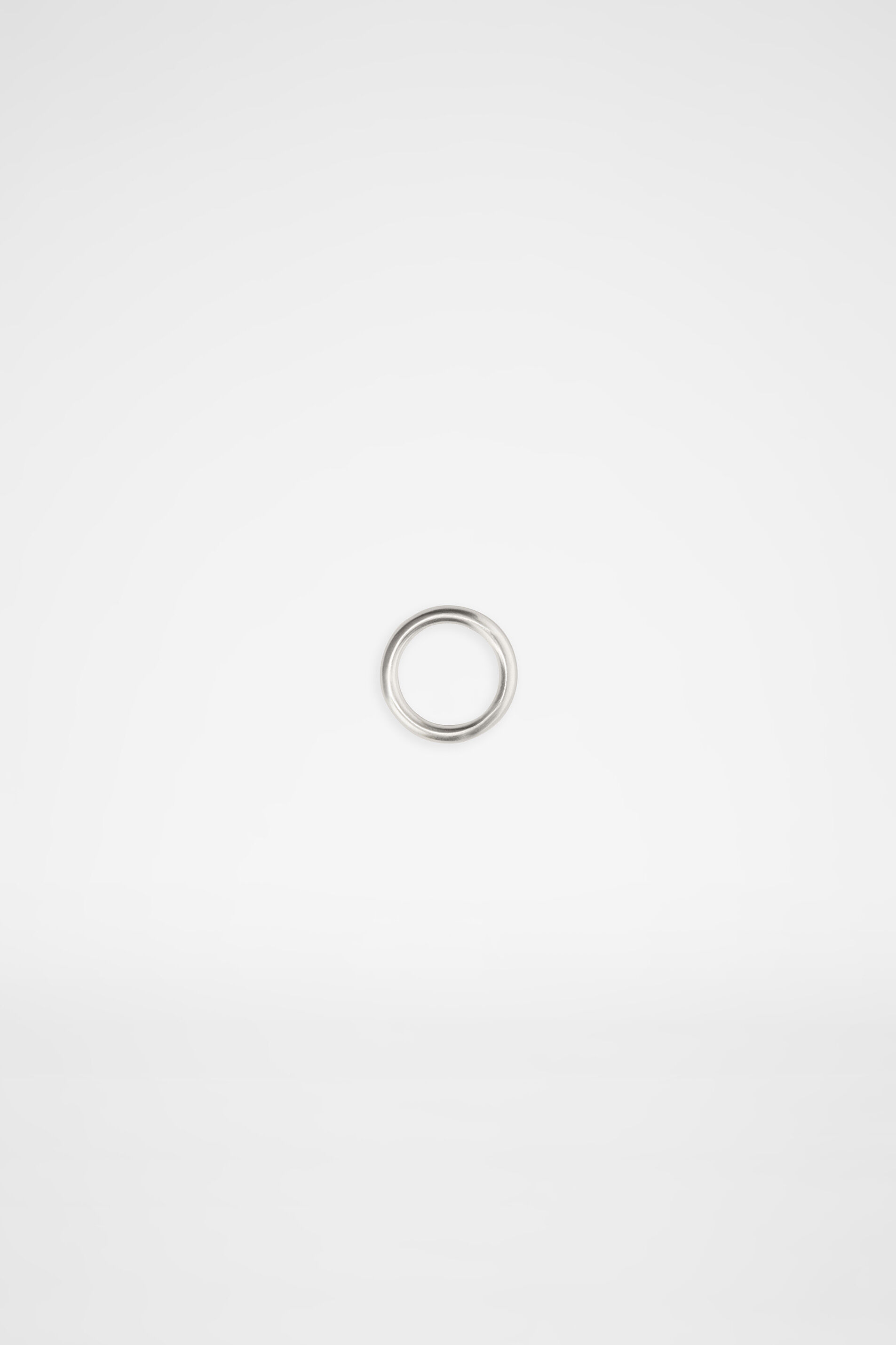 Ring, silver, large