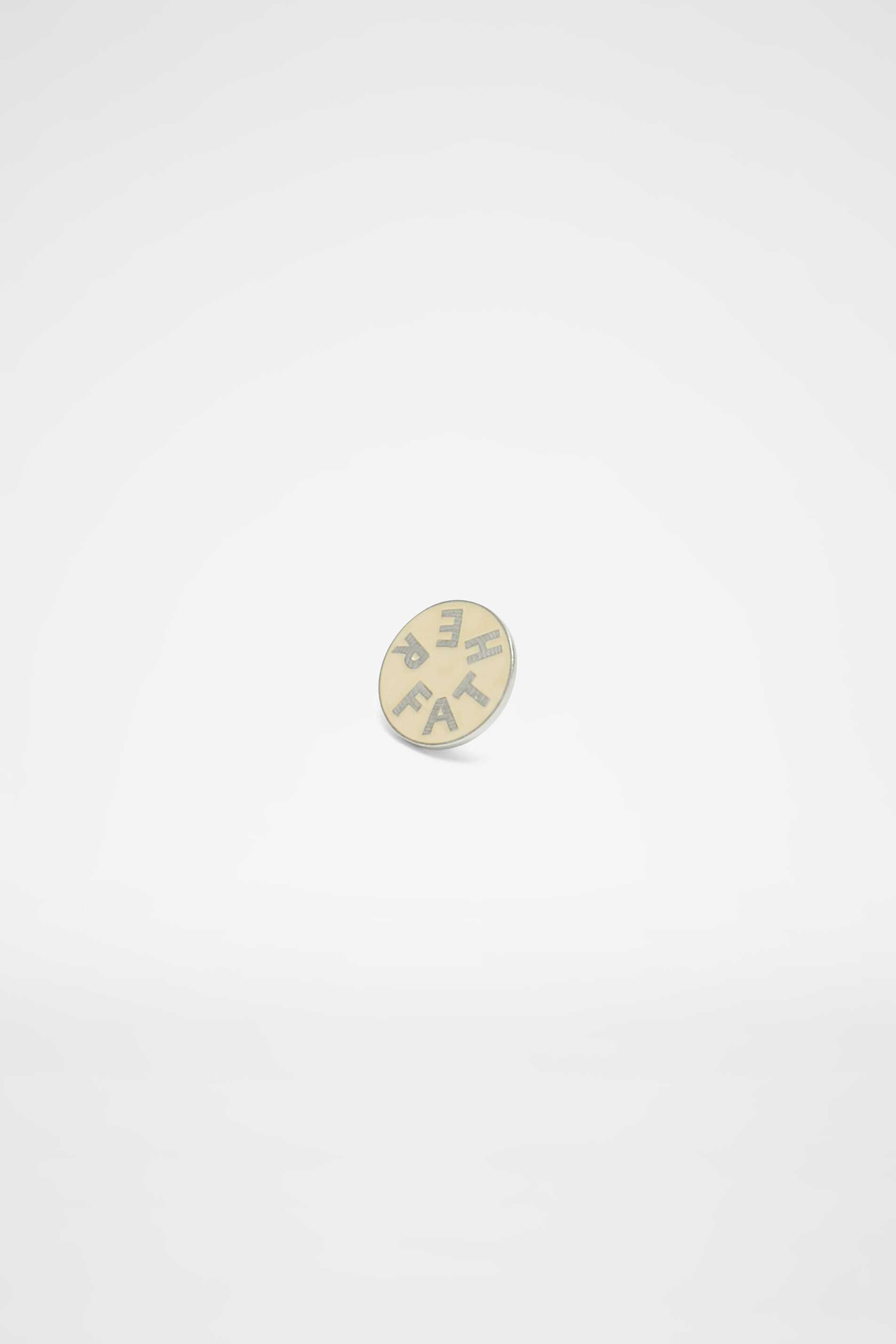 Pin Father, pastel green, large