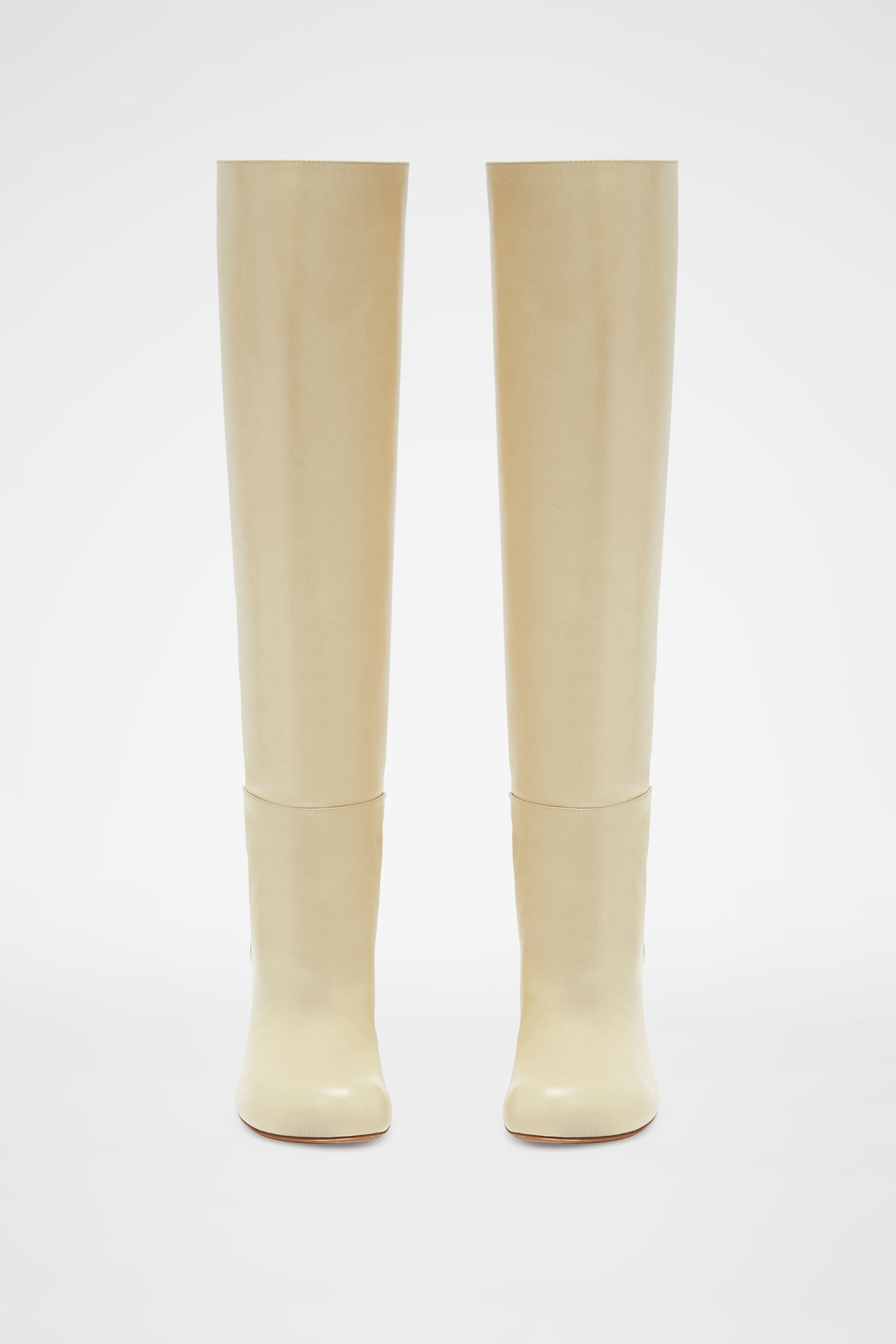 Knee Boots, beige, large