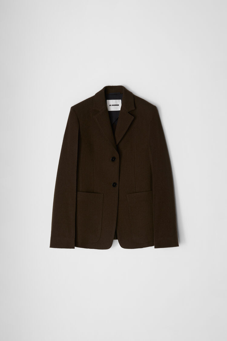 Tailored Jacket, dark green, large