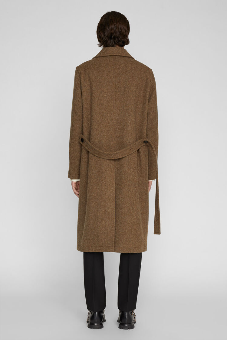 Coat, brown, large