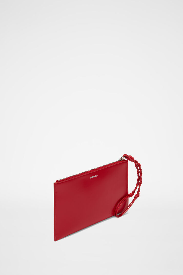 Fold Pocket  Wallet, red, large