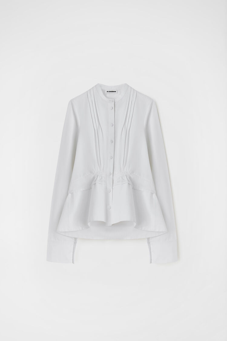 Shirt, white, large