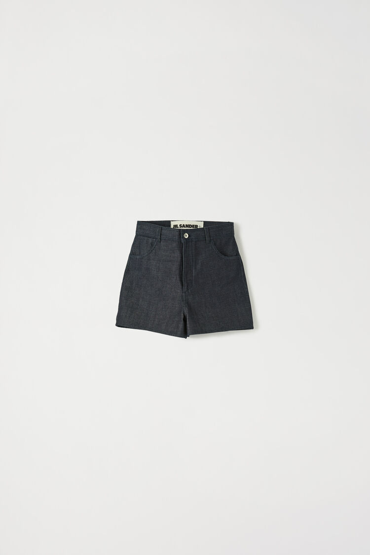 Shorts, dark blue, large