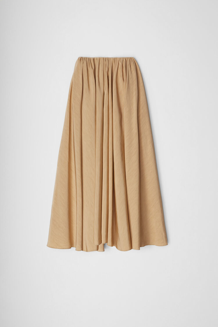 Skirt, dark beige, large
