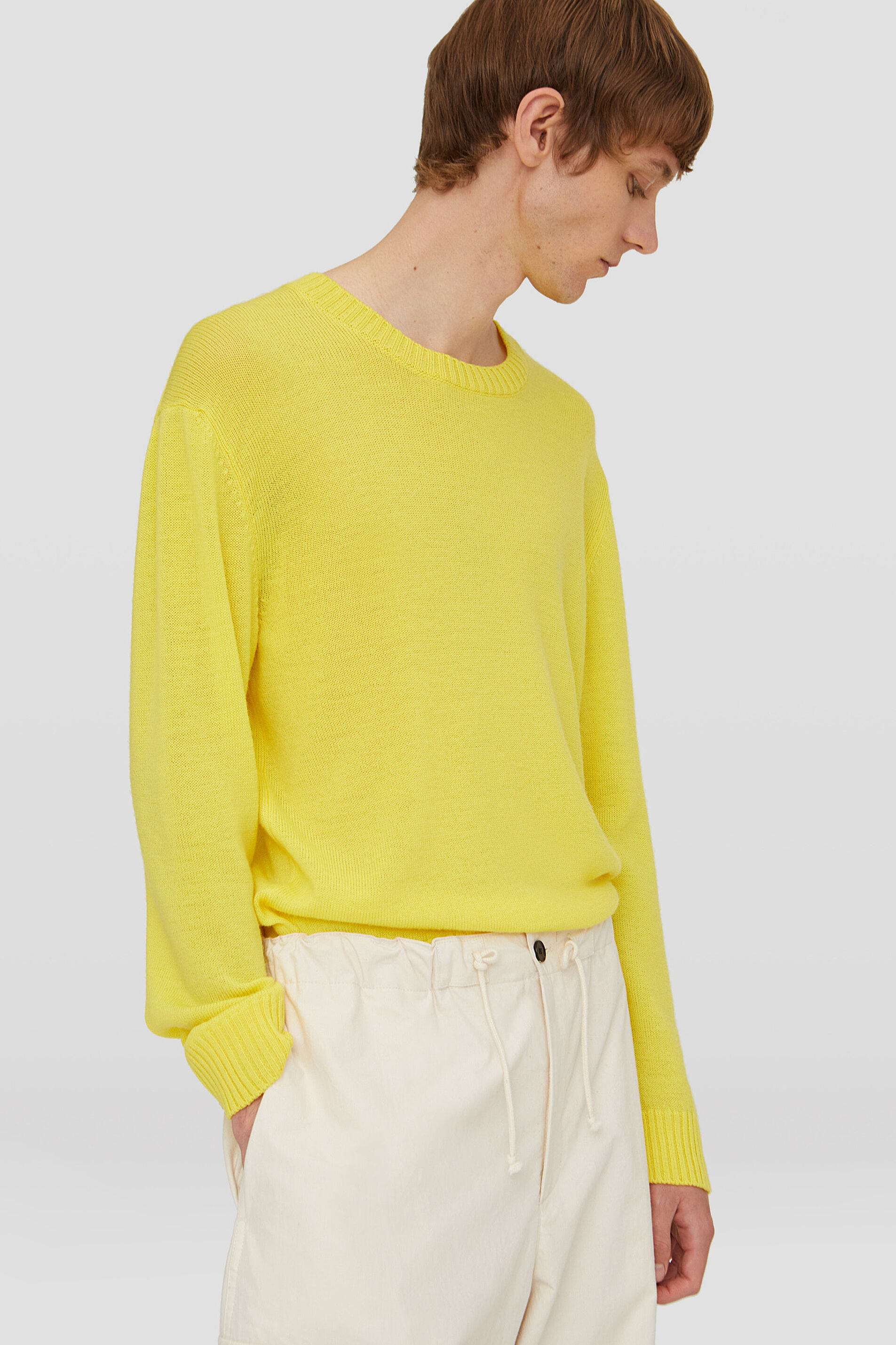 Sweater, yellow, large