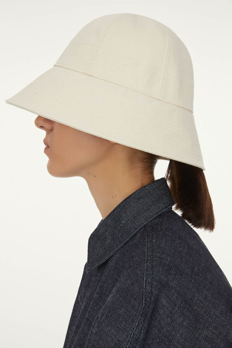 Denim Hat, beige, large