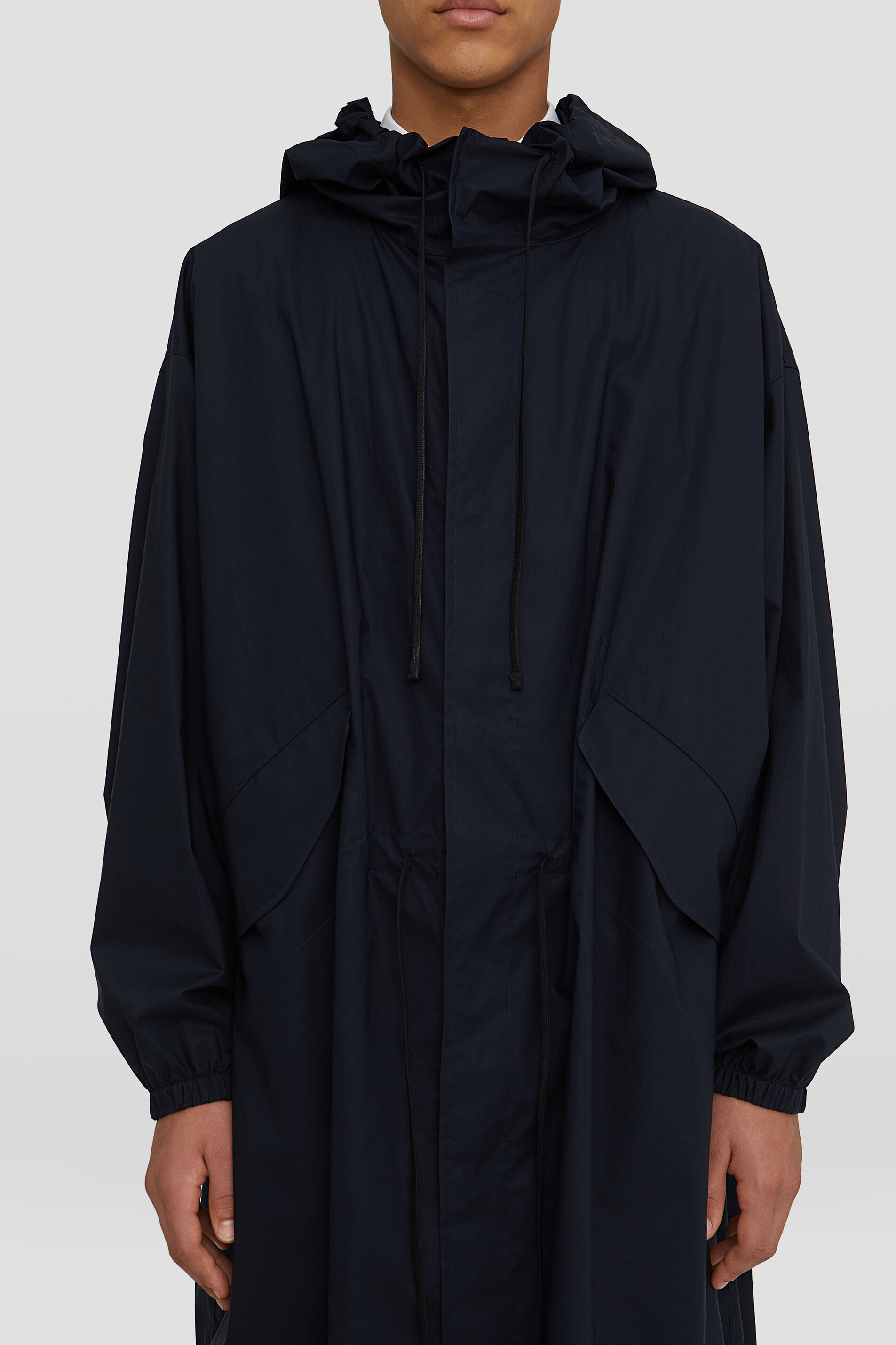 Parka, dark blue, large