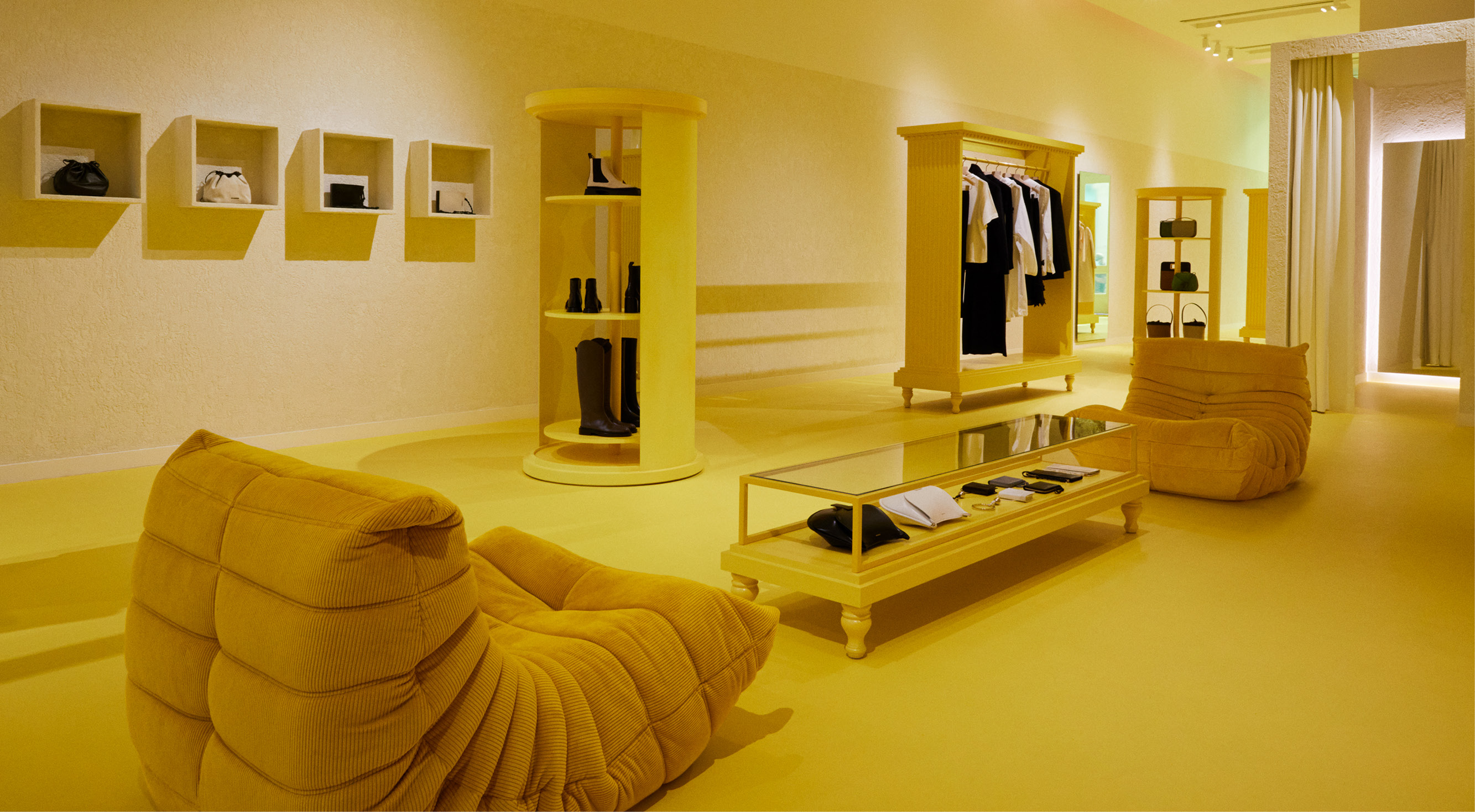 JIL SANDER LANDS IN NEW YORK WITH A SOHO MORPHING POP-UP