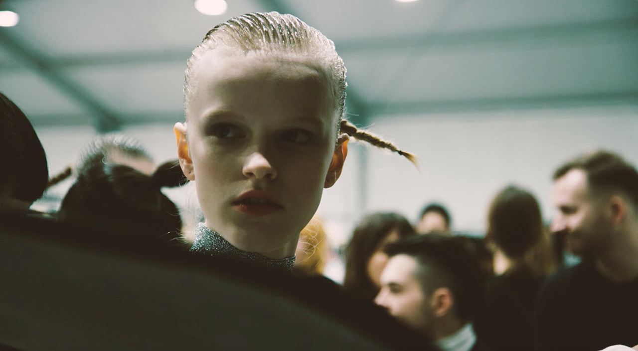 BEHIND THE SCENES AT THE WOMEN'S FALL/WINTER 2018 SHOW DOCUMENTED BY STEPHEN KIDD