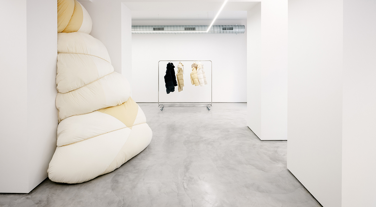 INTRODUCING MILAN'S VIA SANT'ANDREA STORE